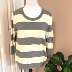 🔴 5/$25 GAP l Striped Cotton Sweater